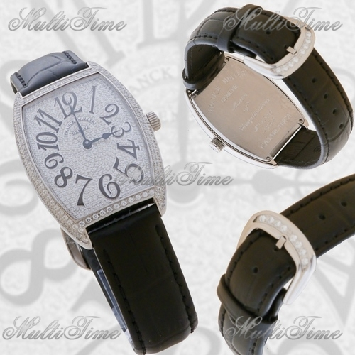 Часы Franck Muller Cintree Curvex on Partial Diamond
