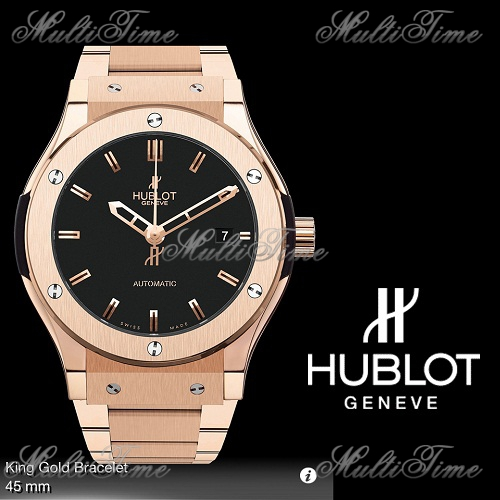 Часы HUBLOT HUBLOT CLASSIC FUSION King Gold Bracelet