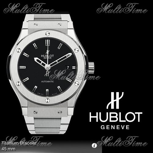 Часы HUBLOT HUBLOT CLASSIC FUSION Titanium Bracelet
