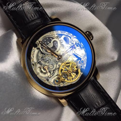 Часы Vacheron Constantin Patrimony Skeleton Minute Repeater